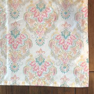 Cynthia Rowley Tablecloth 5'x8' Turquoise pink EUC